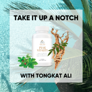 """Malaysian Ginseng"" Tongkat Ali Is Nature's Hormone Optimizer and Vitality Inducer"